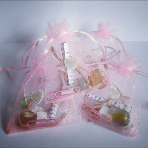 A LITTLE BAG OF HAPPINESS Christmas Gift Friendship Keepsake Wedding Birthday