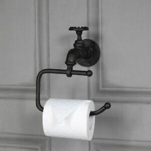 Details Sur Rustique Metal Rouleaux De Papier Toilette Tissue Holder Retro Industriel Salle De Bains Accessoires Afficher Le Titre D Origine