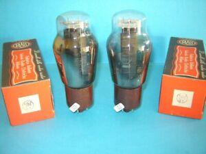 2x valvola raddrizzatrice Brimar 5R4GY nuova e  provata. Tube lampe Röhre. NOS