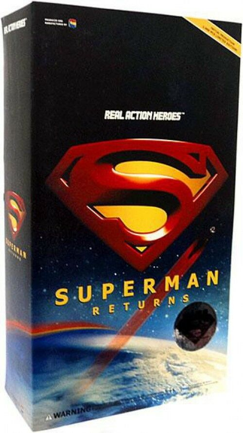 Superman Returns Real Action Heroes Superman Action Figure
