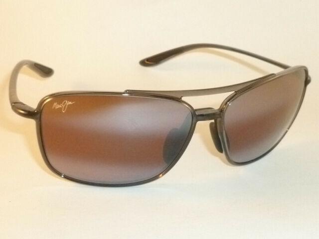 afc7f2b3e90e Authentic Polarized MAUI JIM KAUPO GAP Sunglasses Smoke Grey R437-11 Rose  Lens