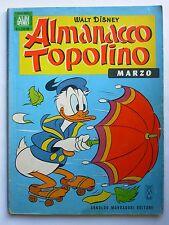ALMANACCO TOPOLINO N. 3 MARZO 1964 WALT DISNEY ALBI D'ORO CON FIGURINE
