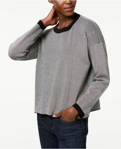 6b0712ddbb5 Image is loading NEW-Eileen-Fisher-Tencel-Colorblocked-Crew-Neck-Sweater-