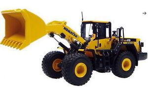 1-50-UH-Universal-Hobbies-Komatsu-WA-470-8-Wheel-Loader-UH8114-Diecast-Model
