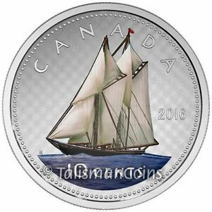 Canada 2016 Big Coins Series 3 Bluenose Color 10 Cents 5