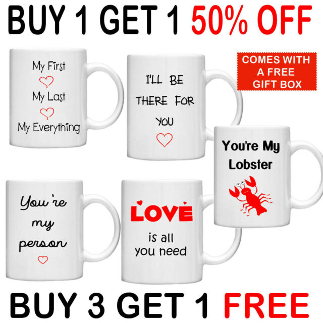 You/'re My Person Coffee Mug Best Friend Cup Anniversary Gift Greys Anatomy Quote