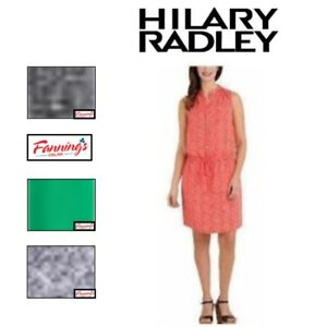 Sale Hilary Radley Womens Sleeveless Layered Tunic Dress Variety