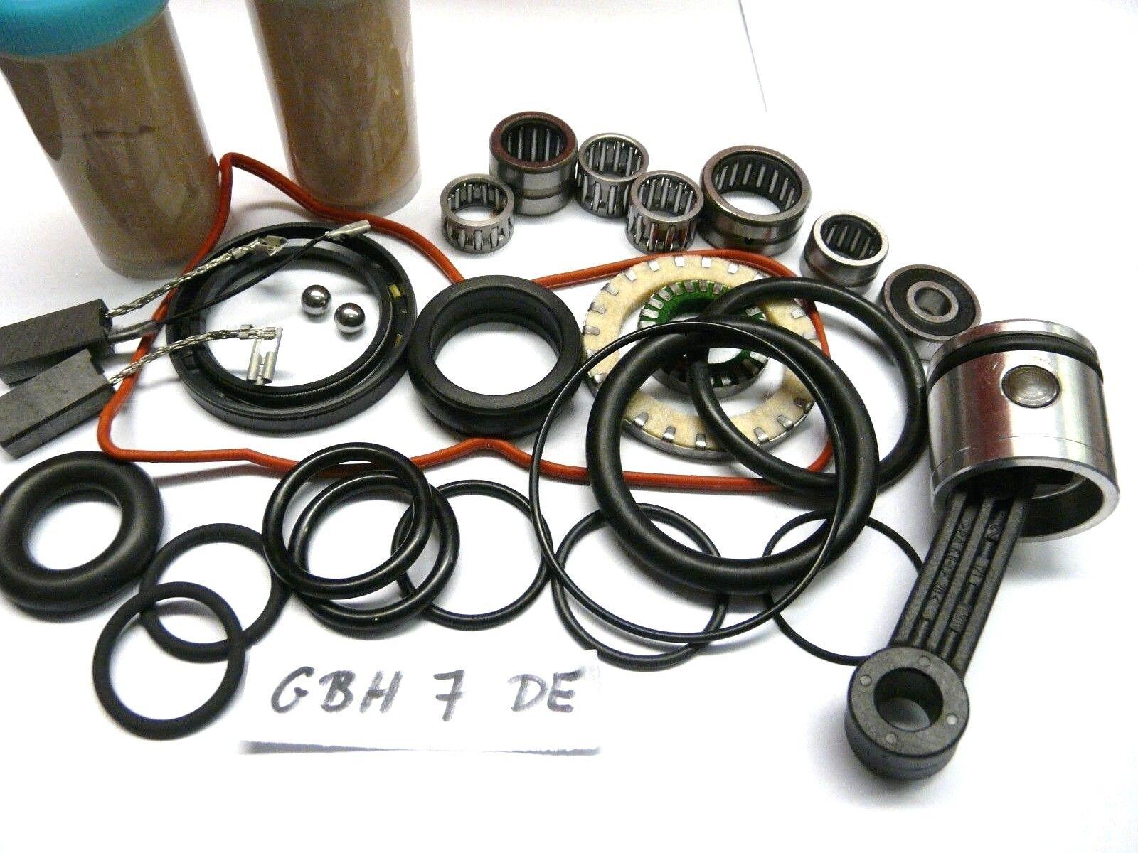 Bosch GBH 7 DE , Reparatursatz, Verschleissteilesatz + Hammerkolben