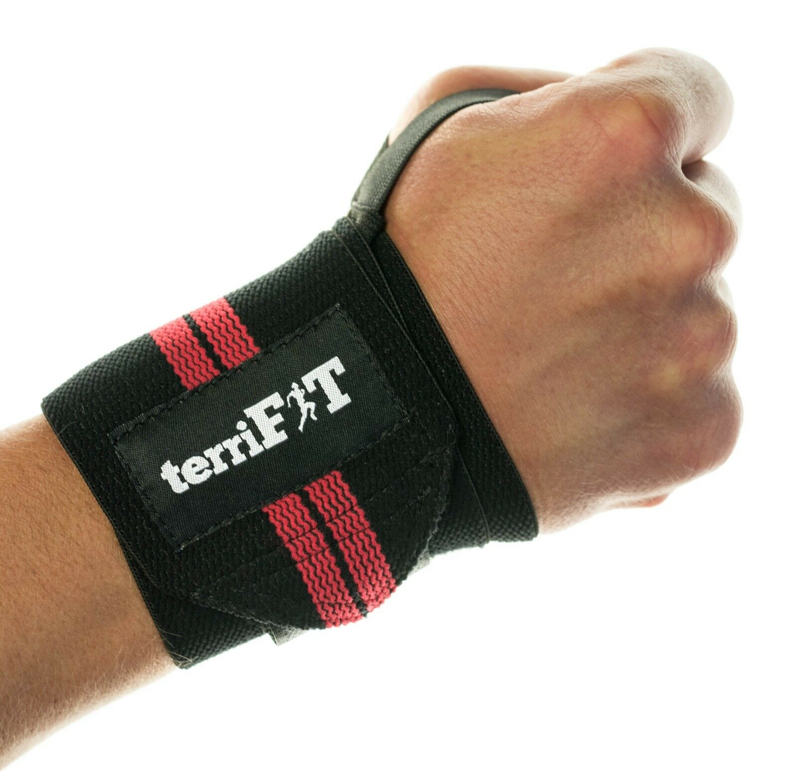 Lot of 50 Pairs Wrist Wraps - 18  Long W  Thumb Loop - Ideal Reseller for Gyms