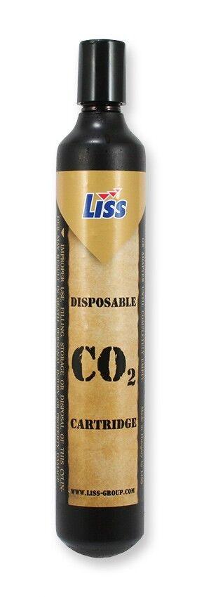 25 x 88g (3.1oz) LISS Originalpatronen CO2 Kapseln Softair Paintball Luftgewehr