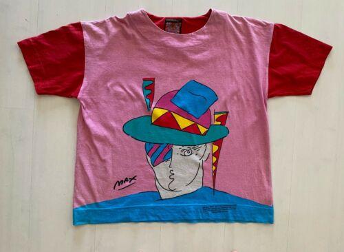 """Peter Max Neo Max Shirt """"Holiday Zero 1987 Iconic"""