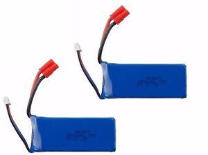 RC-Battery-Kit-2PCS-7-4V-2500mAh-Lipo-Battery-for-RC-Drone-Syma-X8C-X8W-X8G