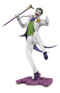 Figurine articulée - Dc La Statue De Pvc De Variante Blanche De Joker Blanc