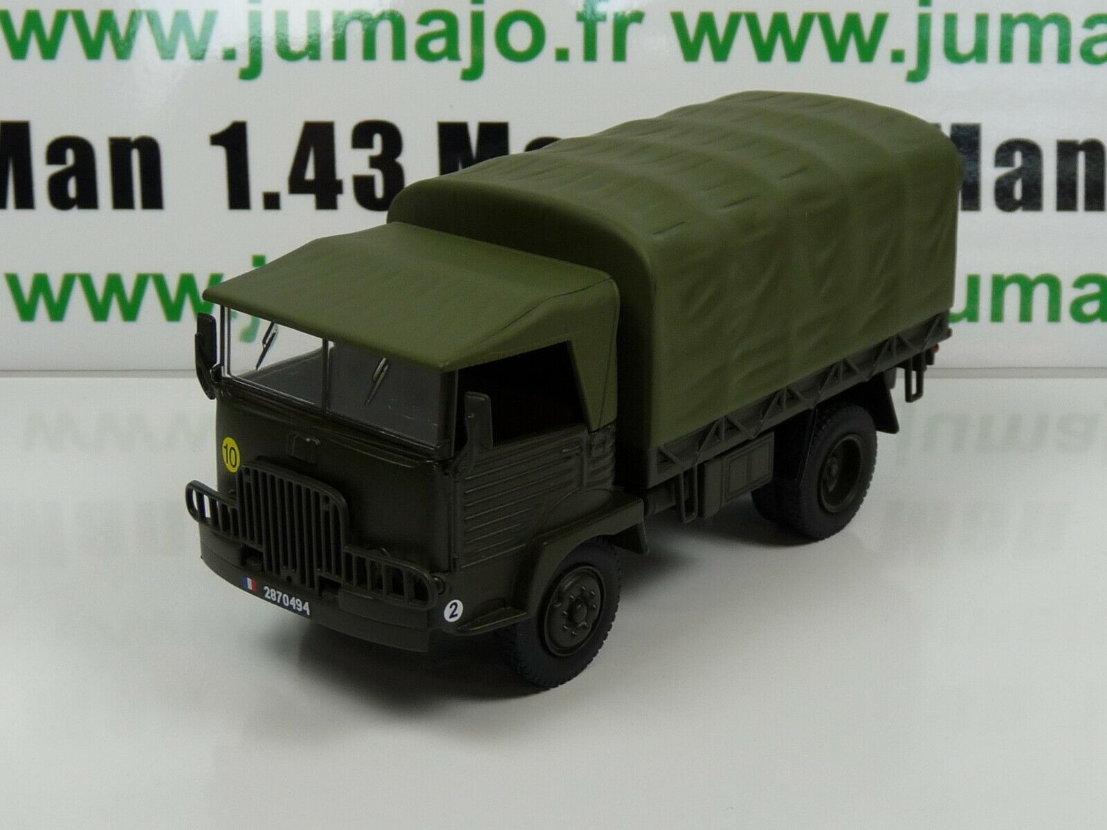 Vmf3b Military French Direkt Ixo 1 43 43 43 Simca F594 W 4x4 Plateau Covered Troops 24867c
