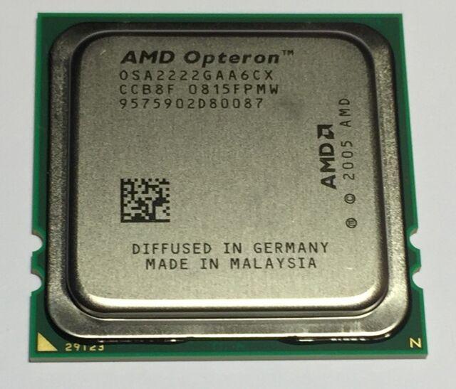 AMD OSA2222GAA6CX OSA2222CXWOF Opteron 2222 3Ghz Dual Core 2MB PC CPU Processor