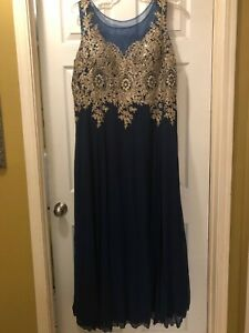 Details about used plus size prom dress