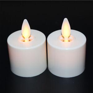 Luminara Moving Wick Flameless Battery Tea Lights Candle