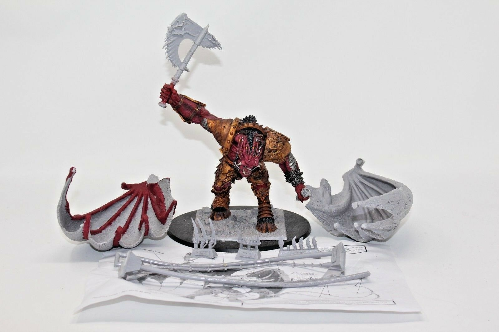 Warhammer Daemons of Chaos Bloothrister Forge värld, JYS59