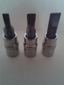 1-4-Zoll-Steckschluessel-Nuss-mit-Schlitz-Bit