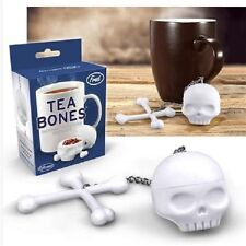 NEW - TEA BONES SKULL AND CROSSBONES TEA INFUSER by FRED AND FRIENDS
