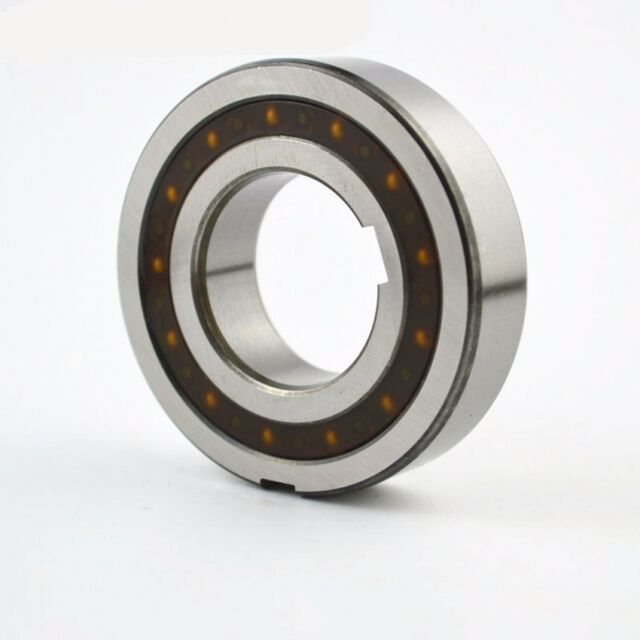 CSK25PP 25x52x15mm One Way Bearing With Keyway Single Row ABEC1 Bearing Steel