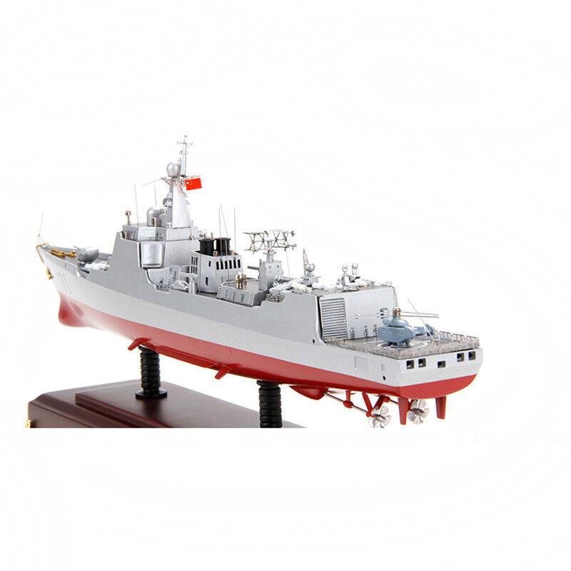 Destructor de tipo 052C 1 400 destructor de misil de defensa aérea Modelo Estático barco de guerra