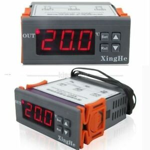 9.9℃ 99.9℃ 12V Digital LED Thermostat Temperature Controller CAR Water Tanks