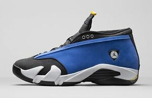 2015 Nike Air Jordan 14 XIV Retro Laney Size 9.5. 807511-405 1 2 3 4 5 6