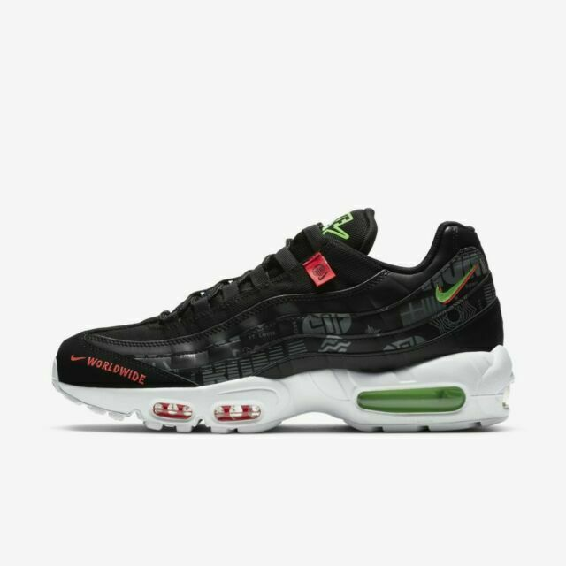 Size 10 - Nike Air Max 95 Worldwide - Black for sale online   eBay
