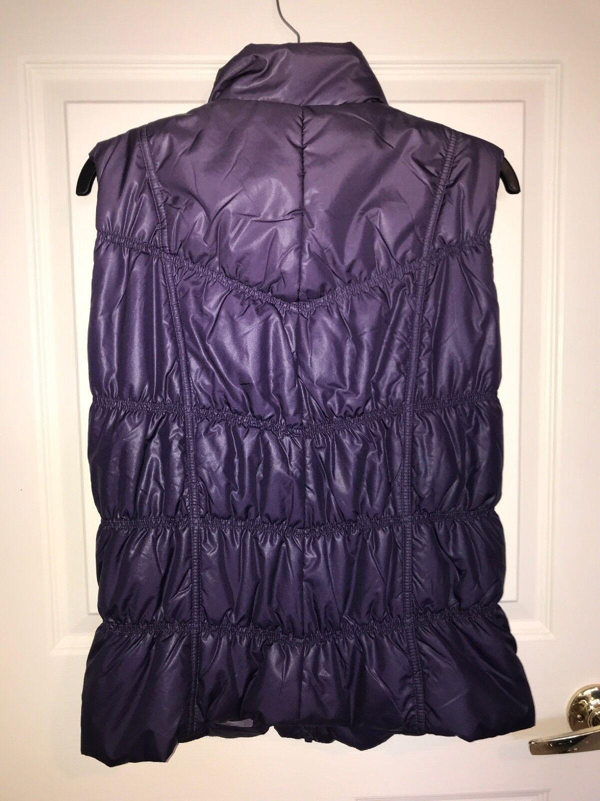 NWT Tribal Brand Puffy Vest, Purple, Purple, Purple, Small 685b7c