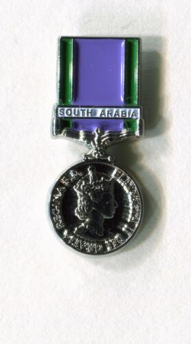 south arabia general service medal enamel badge British and Commonwealth forces