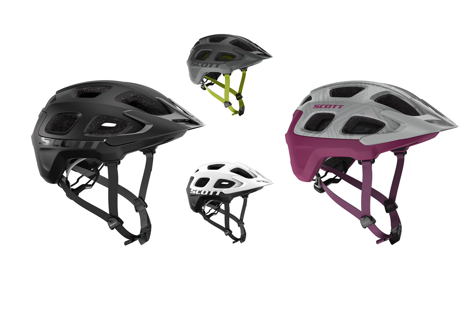 Scott Casco Bicicleta Vivo de Mountainbike Radhelm