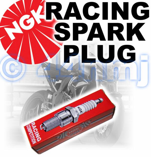 NGK Bujía Racing para Yamaha 125cc YZ125 Enfriado por Líquido 81>91