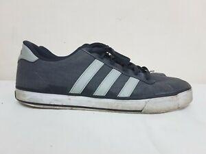 Premisa robo Hola  Adidas Para Hombre Casual de Encaje Arriba Sneackers ante Gris Zapatos De  Lona Zapatillas US talla 9.5 | eBay