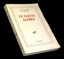 [SOCIOLOGIE] CAILLOIS (Roger) - Le Fleuve Alphée.