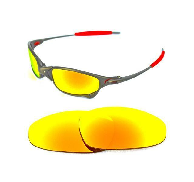 e32a1f8f10 Polarized Custom Fire Red Lens for Oakley Juliet Sunglasses for sale online