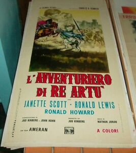 La-039-Aventurero-de-Rey-Artu-Cartel-Original-1963