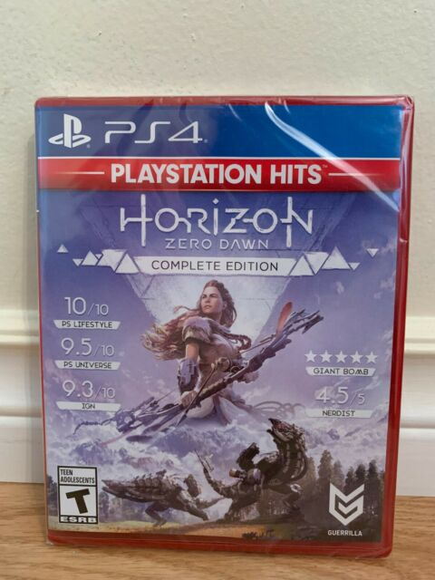 PlayStation Hits Horizon Zero Dawn Complete Edition (PS4) - Brand New / Sealed