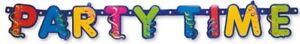 INFANTIL-CUMPLEANOS-PARTY-TIME-tematico-039-Feliz-Cumpleanos-039-Letras-Pancarta