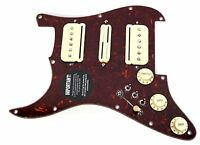 920d Custom Loaded Strat Pickguard With Seymour Duncan Hsh P-rails Left Hand on Sale