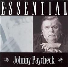 The Essential By Johnny Paycheck Cd Nov 2006 Cbuj Distribution