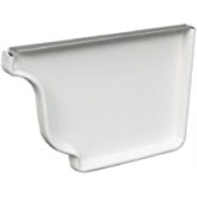 AMERIMAX HOME PRODUCTS 27201 5-Inch Aluminum Inside Mitre White