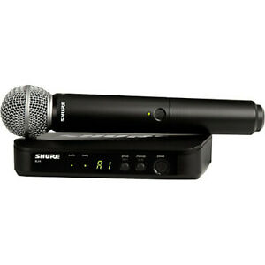 Shure-BLX24-SM58-Wireless-Vocal-System-with-SM58-Handheld-Microphone-H10-Band
