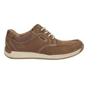 Details about Clarks Mens * Javery Time * Brown Tumbled Lea ** Active Air Vent * UK 7,8,9,13 G