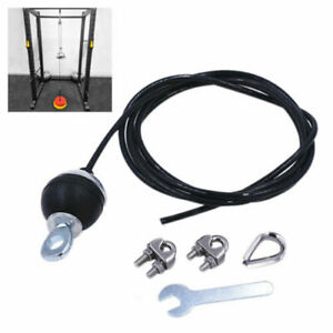 Fitness lift pulley sistema cable Machine loading pin triceps pull Down Strap