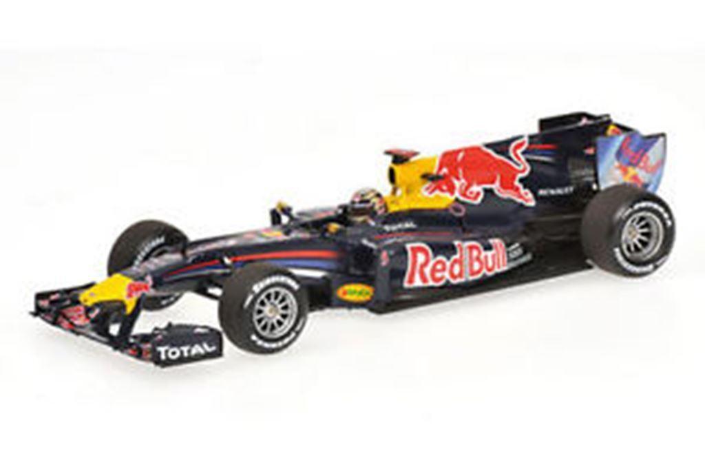 MINICHAMPS 410 100205 rouge Bull RB6 F1 Modèle De Voiture Vettel 1st Brésil 2010 GP 1 43