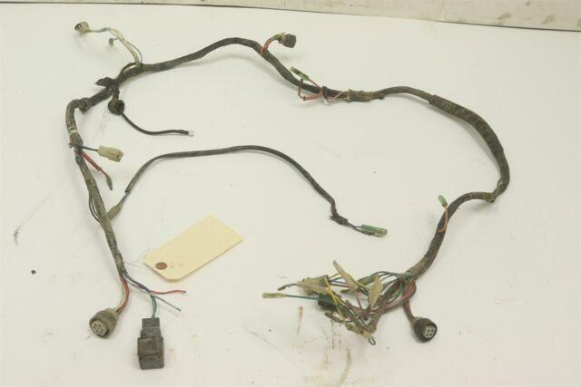 Yamaha Warrior Yfm350 YFM 350 Moto 4 Complete Wire Wiring Harness Loom 1987  for sale online   eBayeBay