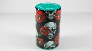 Skull-Flower-Vacuum-Sealed-Herb-Stash-Jar-Container-Airtight-Smell-Proof-Storage