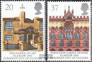 Grossbritannien-1263-1264-kompl-Ausg-postfrisch-1990-Glasgow