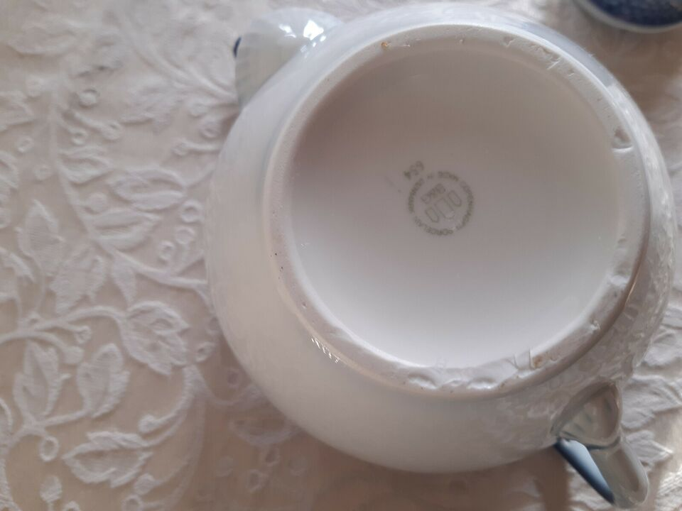 Porcelæn, Dele til Mågestellet uden guldkant, Bing og